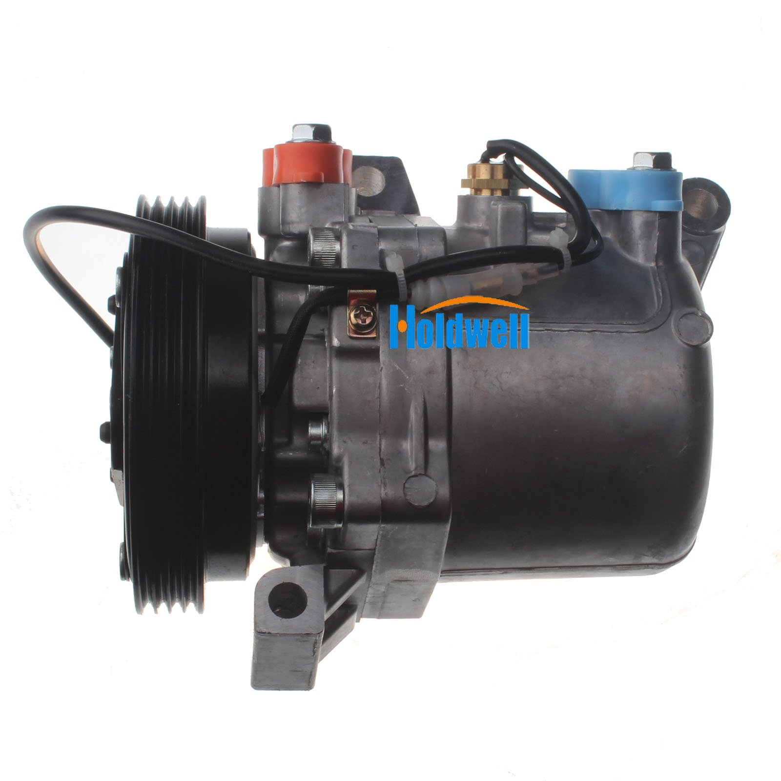 Holdwell Auto AC Compressor 95201-77GB2 9520177GB2 for Suzuki Jimny Seiko Seiki SS07LK10 by Holdwell (Image #2)