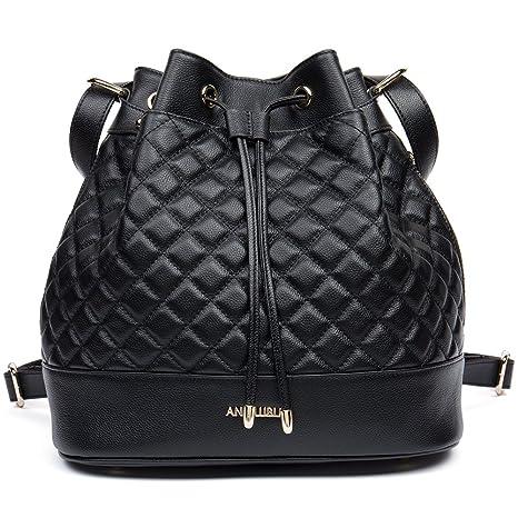 Amazon.com  ANA LUBLIN Women Backpack Purse Leather Fashion Travel Casual Crossbody  Shoulder Bags  WESTBRONCO 4fee4e8f05ad8