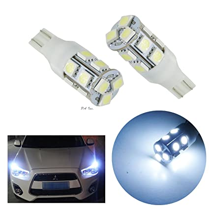2 pcs T10 T15 921 168 194 13SMD 5050SMD LED Wedge Bulbs