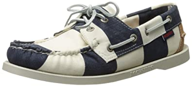 SPINNAKER STRIPE - Bootsschuh - navy/white