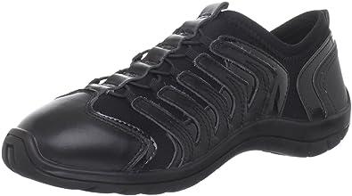 Capezio Snakespine Dance Sneaker,Black,4 M US