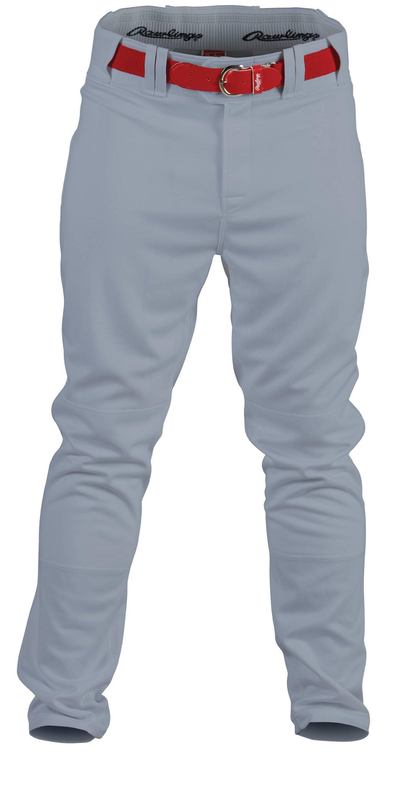 Rawlings Men's Baseball Pant (Blue Grey, Medium) by Rawlings Sporting Goods
