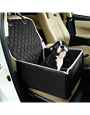 Toozey Hunde Autositz für Kleine Mittlere Hunde, Rückbank & Vordersitz Hundesitz, Wasserdicht Autositzbezug mit Verstärkte Wände, Extrem Langlebig & Einfach zu Installieren