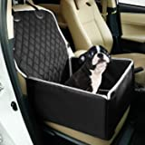 Toozey Dog Car Seat for Small Medium Dogs, Dog Booster Car Seats with Sturdy Sides, Waterproof & Non Slip Dog Car Seat for Back & Front Seat, Extremely Durable & Easy to Install, 58 x 45 x 45 cm