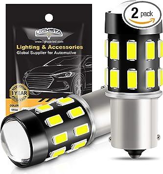 4x Super White T10 LED High Power Projector Backup Lights Reverse Marker Bulbs
