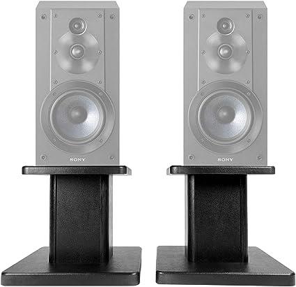 "Home Audio Speaker Mounts & Stands 8"" Wood Bookshelf Speaker ..."