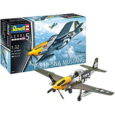 Revell 03944 - P-51D Mustang 1: 32 Scale: Toys & Games