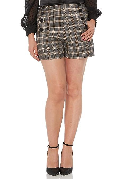 Vintage High Waisted Shorts, Sailor Shorts, Capris Voodoo Vixen Whitney Brown High-Waist Shorts £30.00 AT vintagedancer.com