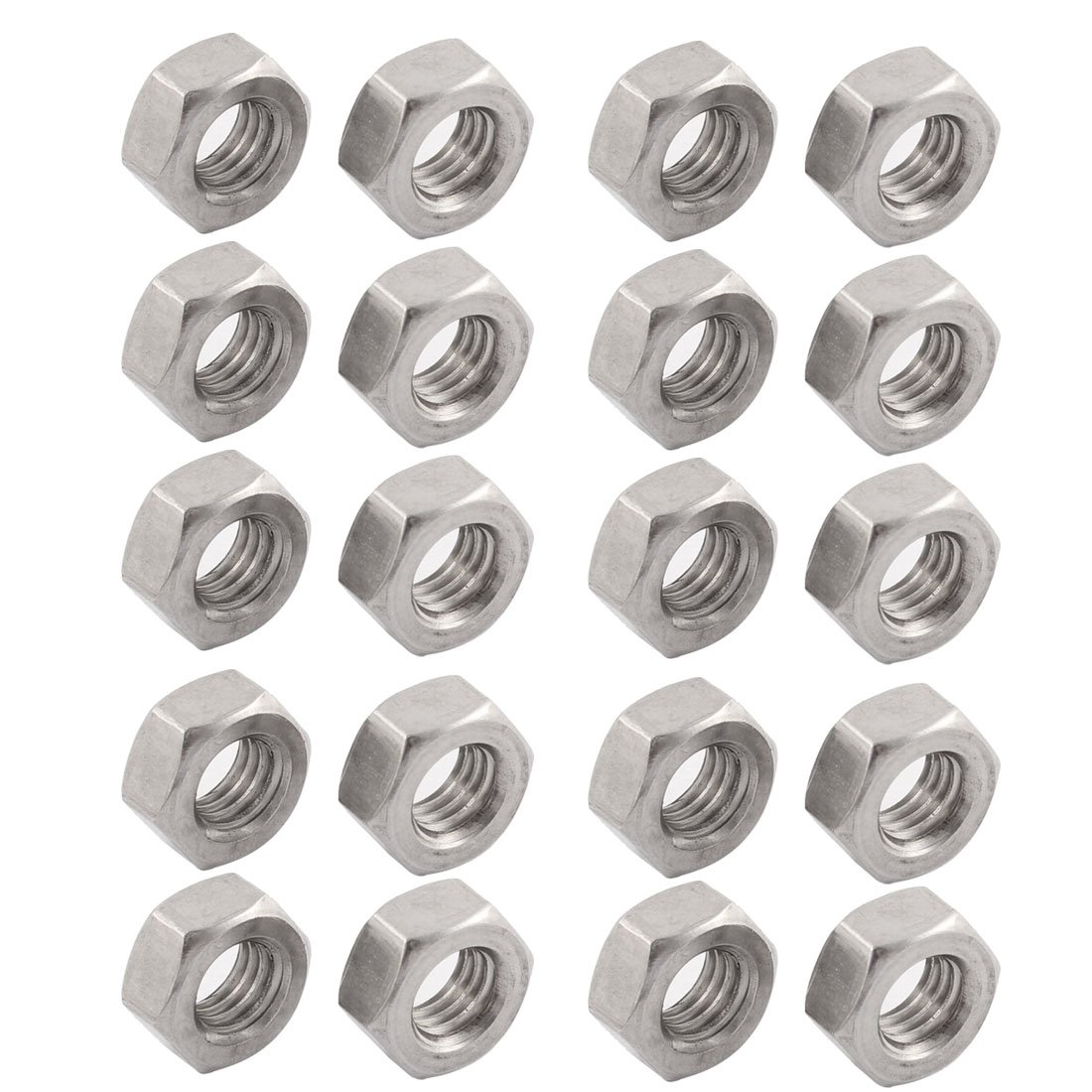 Kegco 6X-HEXNUT-SS Stainless Steel Coupling Hex Nut