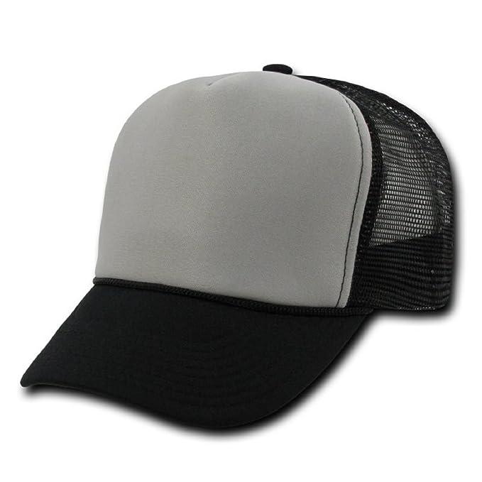 de04d1e6dfd Amazon.com  Industrial Trucker Mesh Caps Plain Baseball Hat ...