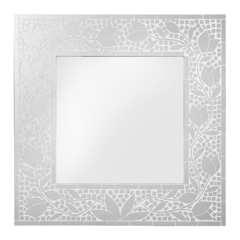 Framed Mirror 20''x20'' 'Mosaic Memories Mirror' by Ten Thousand Villages