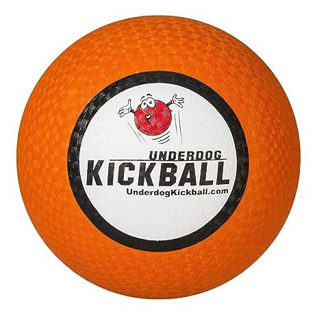 """10"""" Rubber Underdog Kickball - Orange ..."""