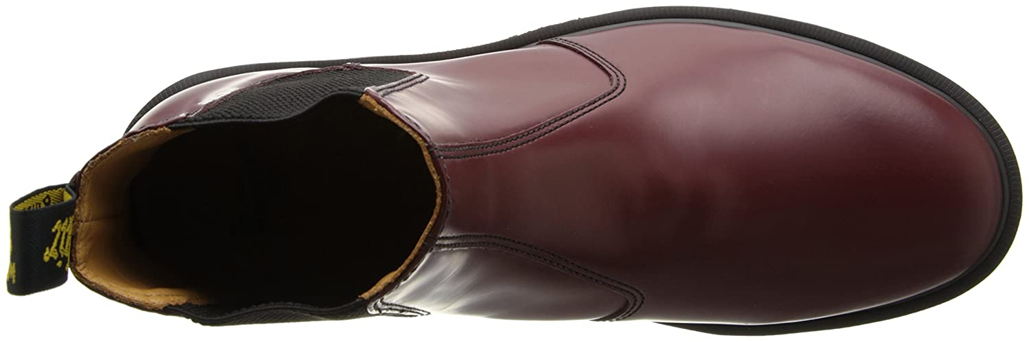 Dr. Martens Men's F(M) 2976 Boot B001FX3418 4 F(M) Men's UK|Cherry Red 358076