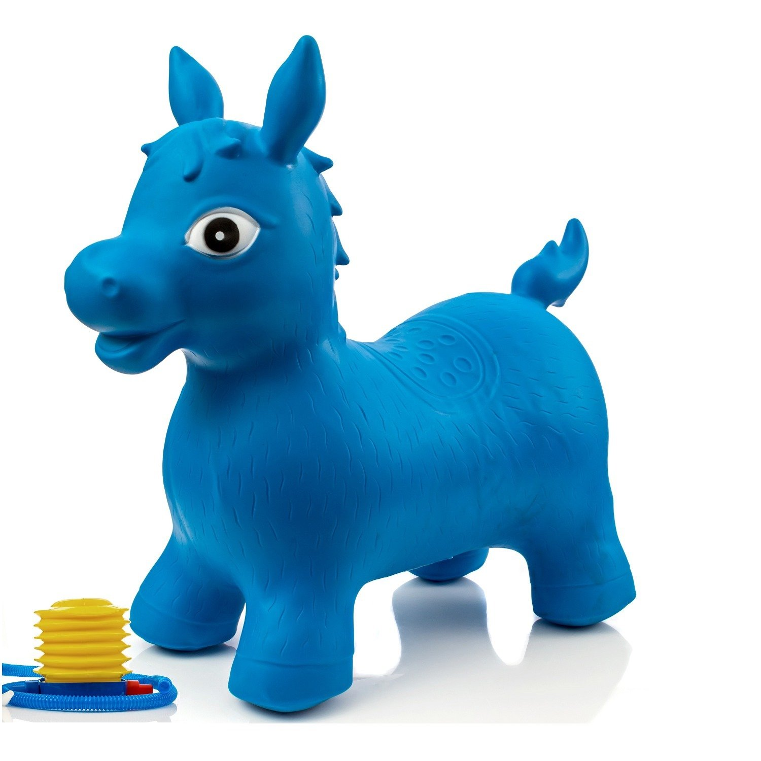 Amazon.com : Childrens Horse Hopper, with Free Foot Pump, Exercise Jumping Animal, Bouncy Horsey for Children, Fun Space Hopper for Core Strengthening ...