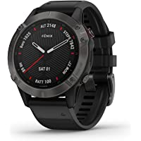 $681 » Garmin fenix 6 Sapphire, Premium Multisport GPS Watch, Features Mapping, Music, Grade-Adjusted…