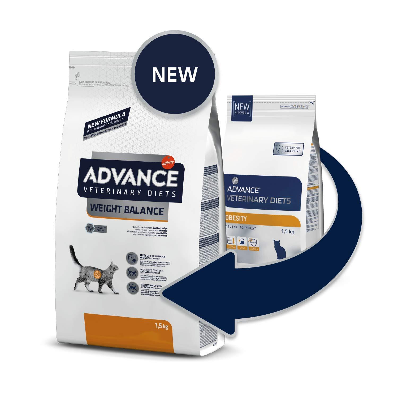 advance cat Food obesidad gato 1,5 kg + C756: Amazon.es: Productos para mascotas