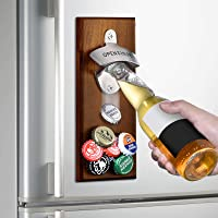 Gifts for Men Dad Fathers Day from Daughter Wife Son, Wall Mounted Magnetic Bottle Opener, Unique Beer Gift Ideas for…