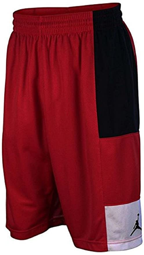 0047d9d95da5 Amazon.com   Nike New Jordan Men s Trillionaire Basketball Shorts-Gym Red  Black White Large   Sports   Outdoors