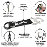 Portable Carabiner Water Bottle Clip Carrier with