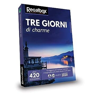 Regalbox - Tre giorni di charme 2018 - Cofanetto regalo: Amazon.it ...