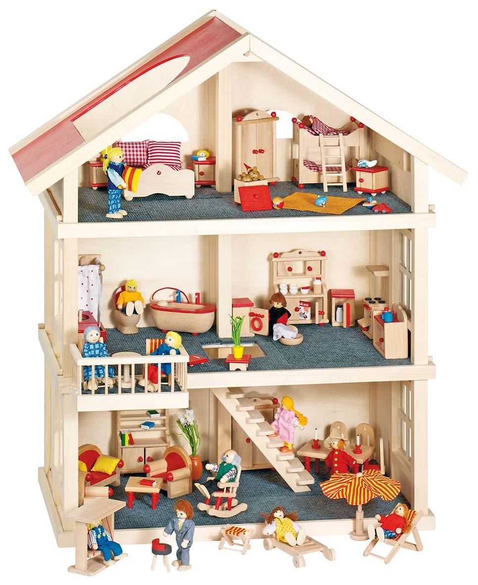 Puppenhaus Holz - Goki Puppenhaus