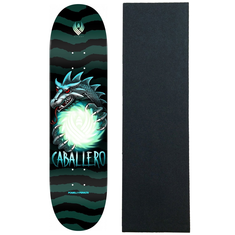 Powell-Peralta Skateboard Deck Flight 243 Caballero Dragon Ball 8.25'' Mob Grip