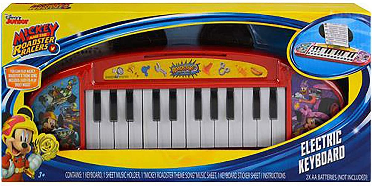 What Kids Want Mickey Keyboard with Music in Box What Kids Want!