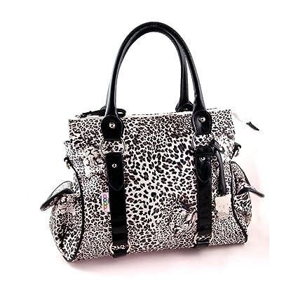 Yippydada Amore - Bolso cambiador, diseño de leopardo