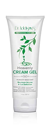 Hair Gel Moisturizer. A Curl defining Cream Gel. Style Women Men Short, Long, Wavy, Straight, Natural Curly hair w Dr. Addison Heavenly Cream Gel No Parabens. 7 fl oz