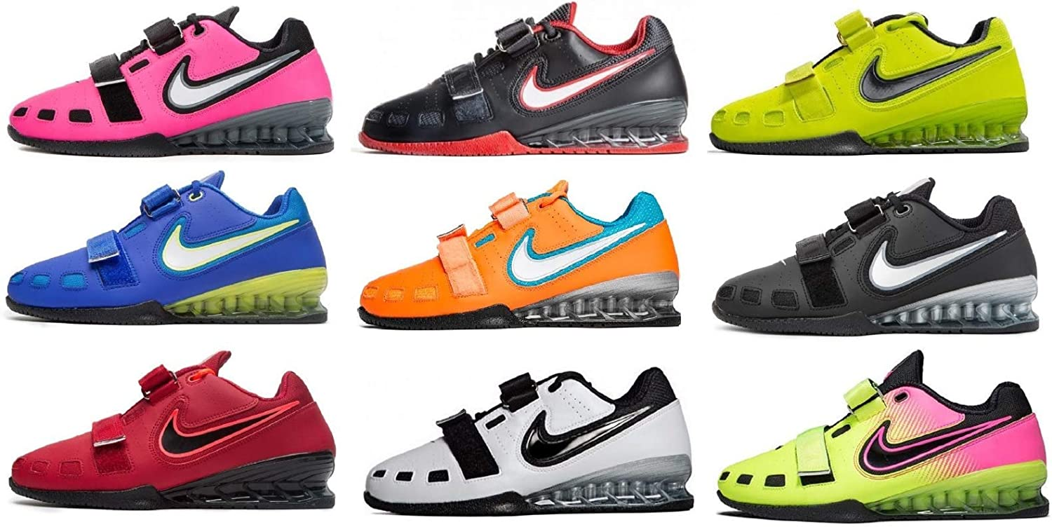 Asesino Circo Requisitos  Nike Romaleos 2 Weightlifting Shoes: Amazon.co.uk: Shoes & Bags