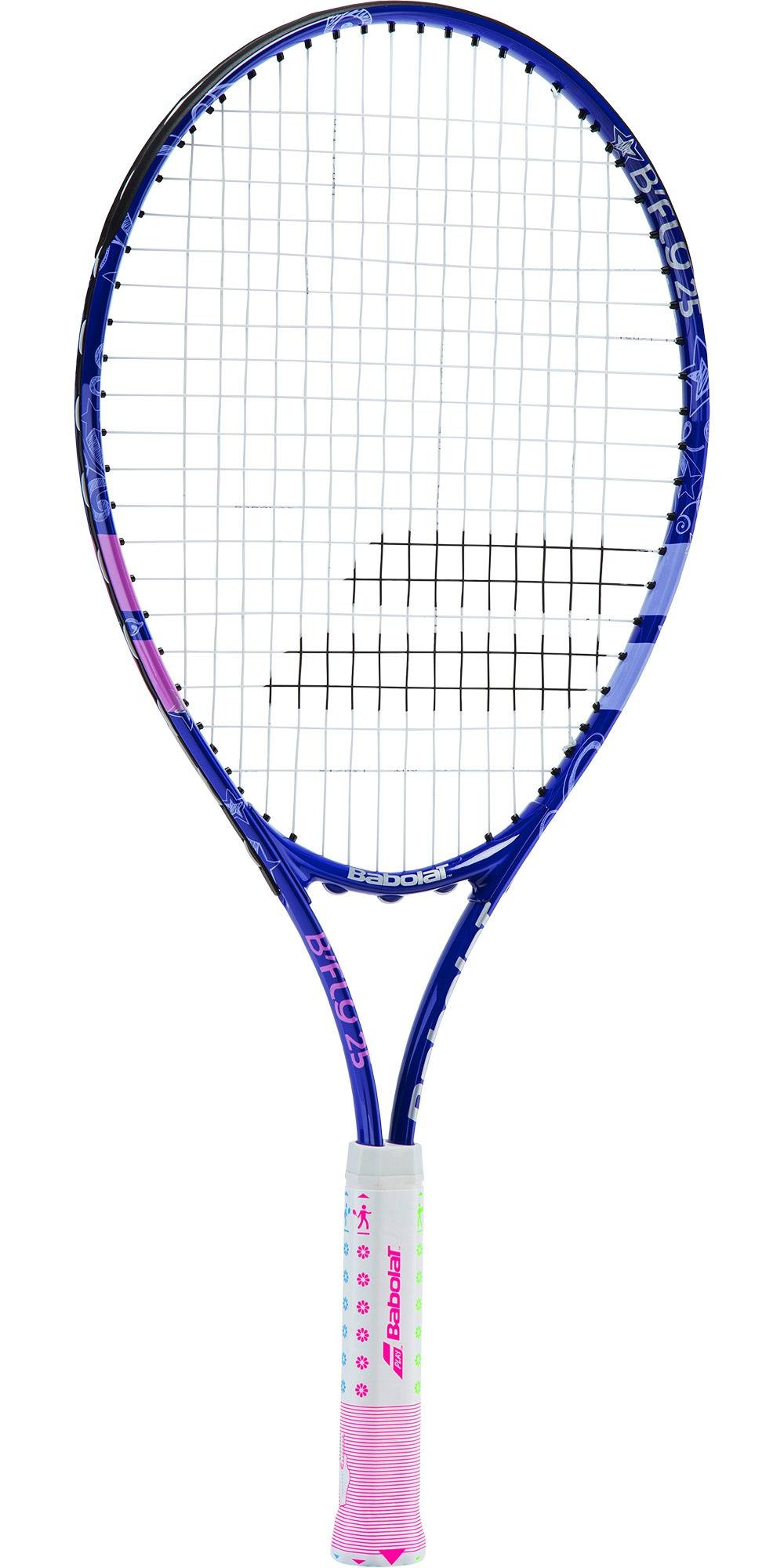 Babolat B'Fly 21'' Inch Child's Tennis Racquet/Racket Kit or Set Bundled with a Purple Junior Tennis Backpack (Best Back to School Gift for Boys and Girls) by Babolat (Image #2)