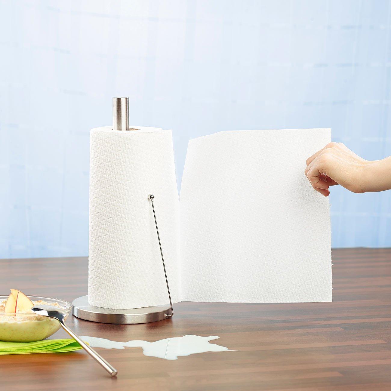 PEARL Küchenrollenhalter: Küchenrollen-Halter aus Edelstahl mit ...