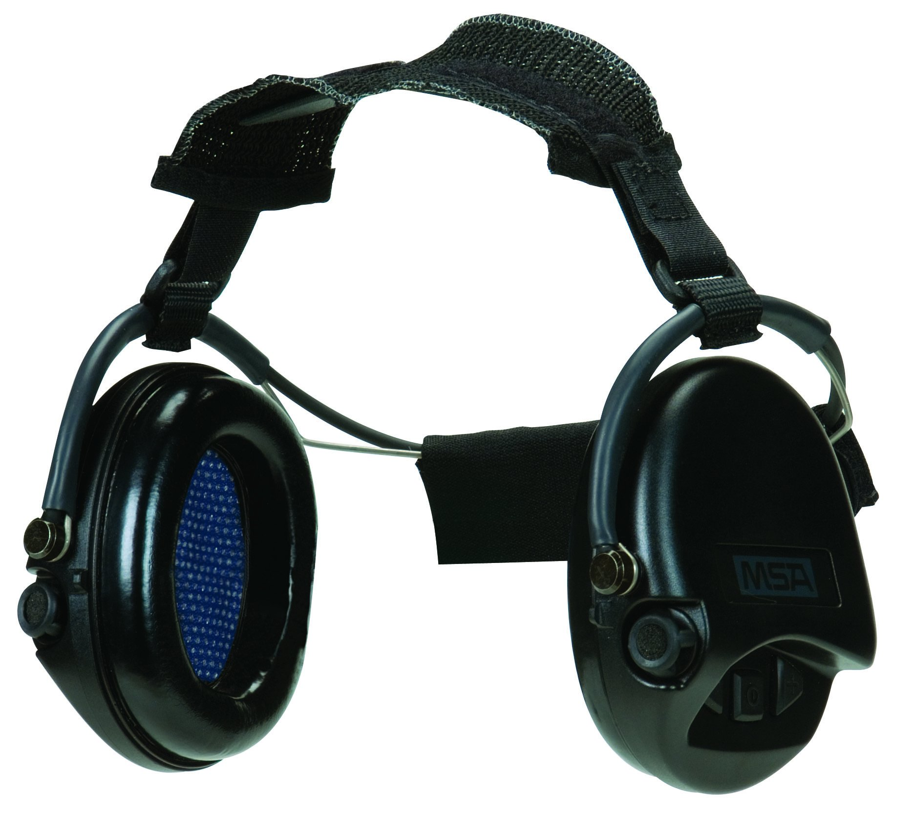 MSA Safety 10079966 Supreme Pro Neckband Model Earmuff with Black Neckband