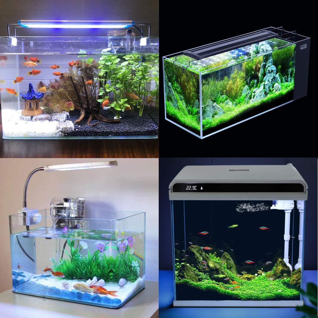 Dioxide 5 en 1 Aquarium Aquascaping Kit Acero Inoxidable Acuario Tanque Planta acu/ática Herramientas Conjuntos Pinzas Tijera esp/átula