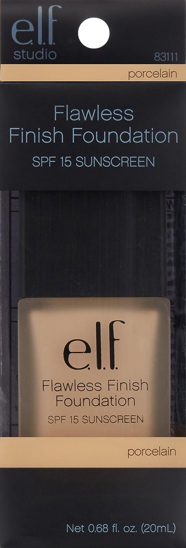 Maquillaje líquido Flawless Finish Foundation de e.l.f. Studio EF85015: Amazon.es: Belleza