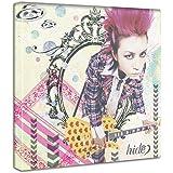 アートデリ ポスター パネル X JAPAN hide 30cm × 30cm ヒデ 日本製 軽量 ファブリック hid-0010