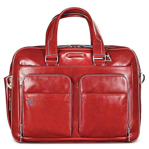 18 opinioni per Piquadro CA2765B2 Borsa, Collezione Blu Square, Rosso