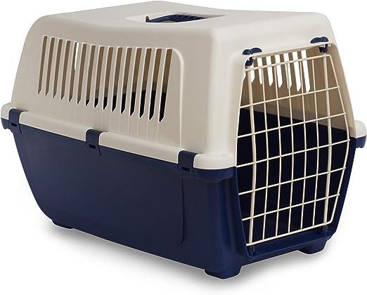 Rosewood Vision Classic - Transportín para Gatos y Mascotas (50 cm), Color Azul: Amazon.es: Productos para mascotas