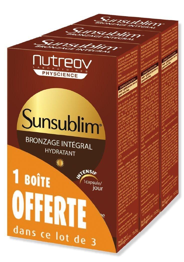 Nutreov Sunsublim Integral Tanning Normal Skin 3 x 30 Capsules 6013A