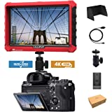 Lilliput A7S 7-inch 1920x1200 IPS Screen Kamera Feldmonitor Field Monitor 4K HDMI Input Output Video for DSLR Mirrorless Camera Sony A7S II A6500 Panasonic GH5 Canon 5D Mark IV DJI Ronin M
