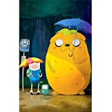 Adventure Time Poster On Silk <35cm x 54cm, 14inch x 22inch> - Seide Plakat - AB2316