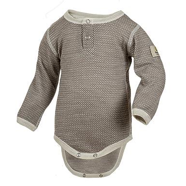 54fa0a9a15c5 Amazon.com  Janus Merino Wool Baby Bodysuit Long Sleeve. Machine ...