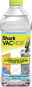 Shark Multi-Surface Cleaner 2 Liter Bottle VACMOP Refill, Spring Clean Scent