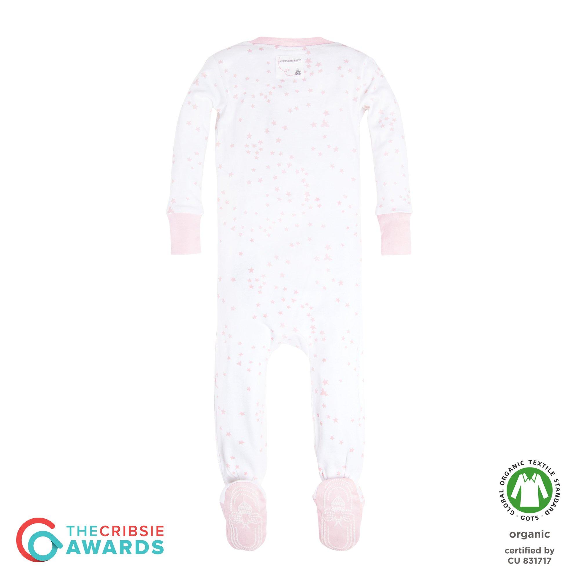 194f95c8fc67 100% top quality ab583 96d27 burts bees baby baby boys pajamas zip ...