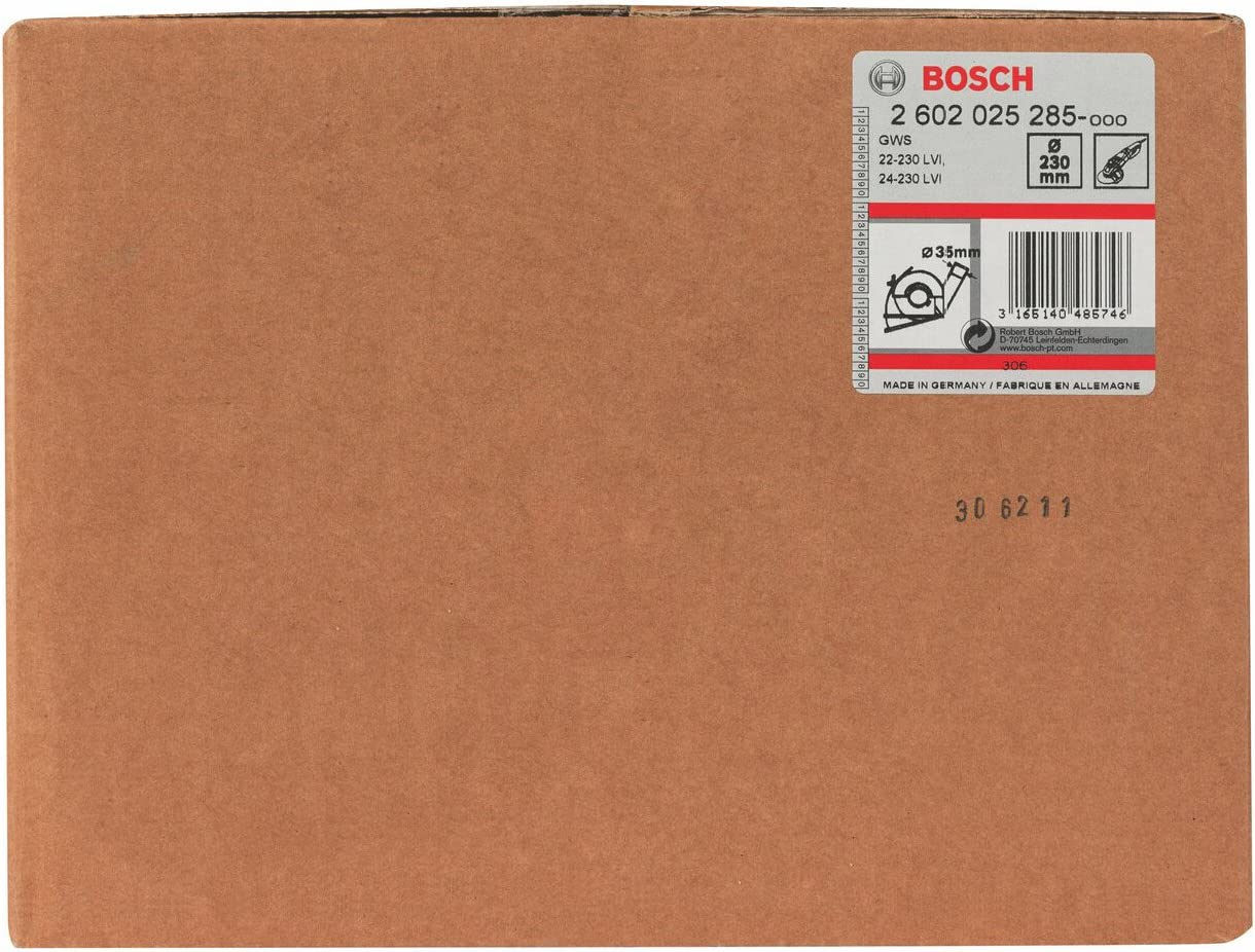 Bosch 2605510292 Capot de protection Avec rail de guidage 115//125 mm