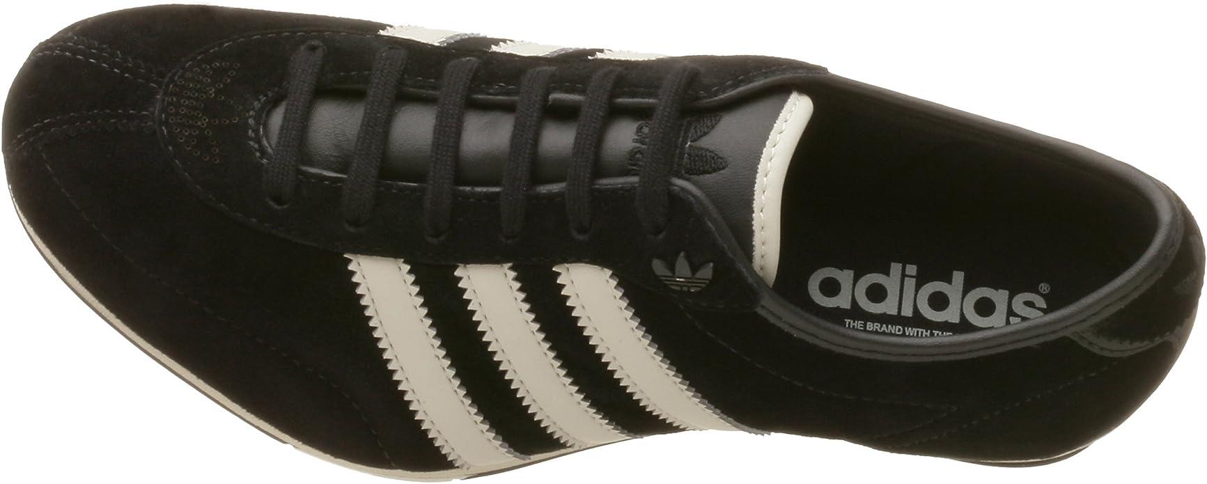 formación bordado inercia  adidas Women's Okapi 2 Suede Running Shoe, Black/DkBone/Black, 5.5 M:  Amazon.co.uk: Shoes & Bags