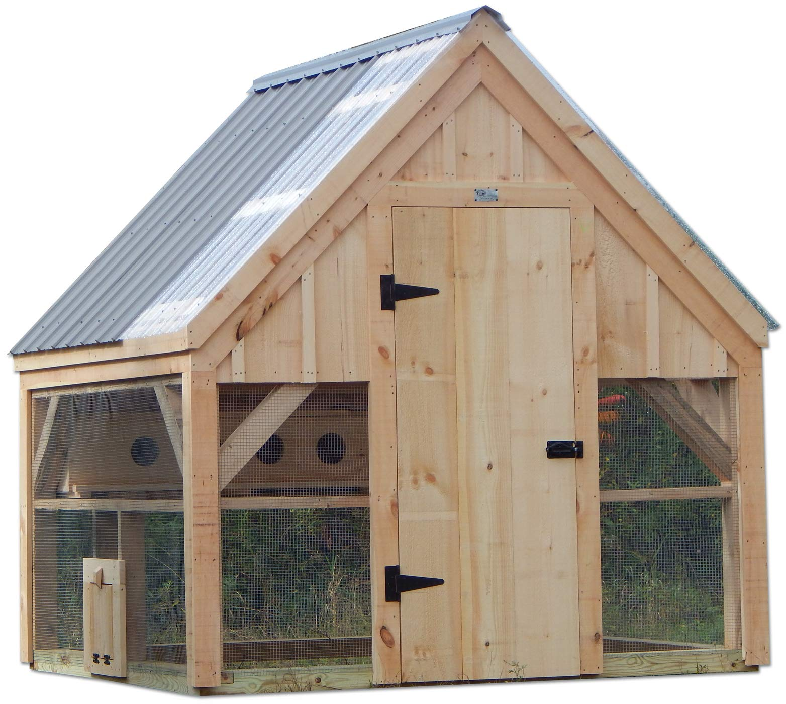 Step By Step Diy Plans Timber Frame Post And Beam Coop Plans