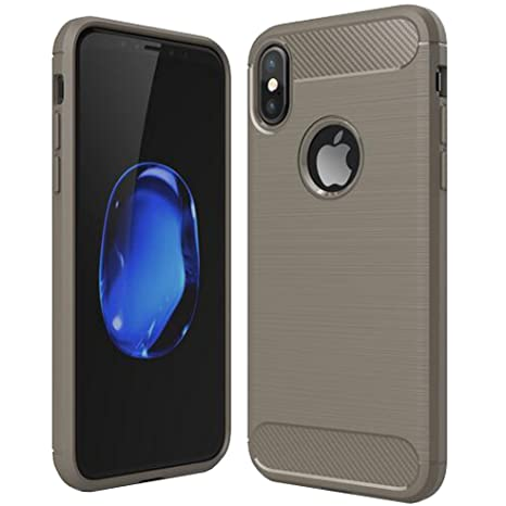 iphone 8 coque complete gris