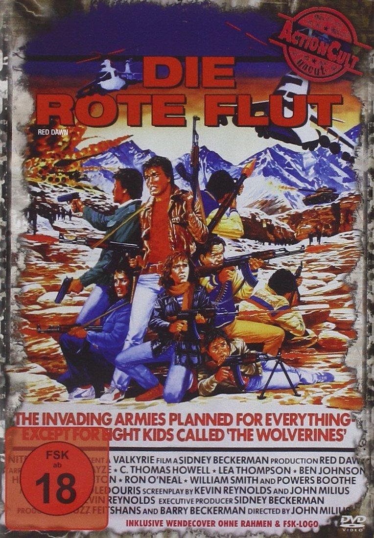 Die rote Flut (Action Cult, Uncut) [Alemania] [DVD]: Amazon.es ...