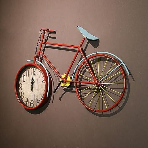 QBDS Reloj de Pared Decorativo del Modelo de la Bicicleta del ...